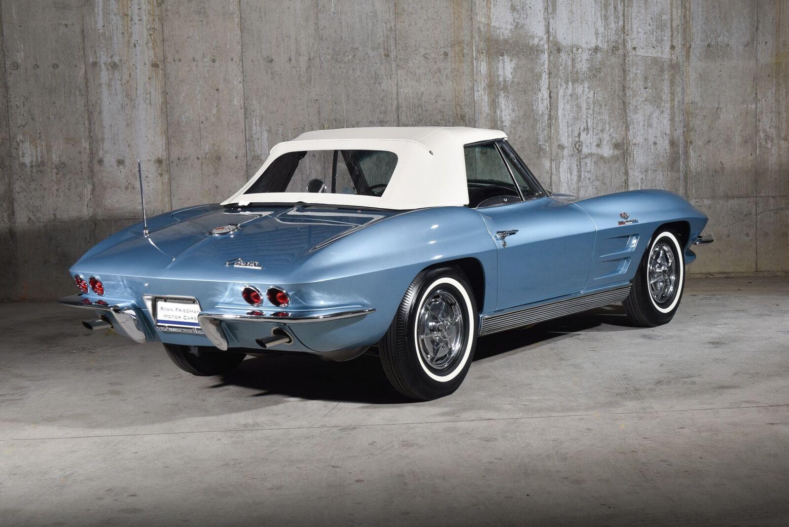 1963 Blue Chevrolet Corvette   | C2 Corvette Photo 6