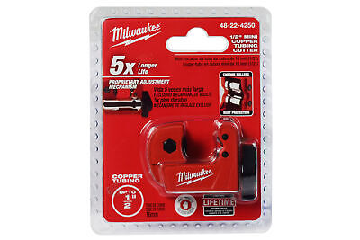 Milwaukee 12 In. Mini Copper Tubing Cutter 48-22-4250