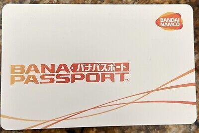 Wangan Maximum Tune 5 - One Unused Bana Passport IC Card - Basic White Design