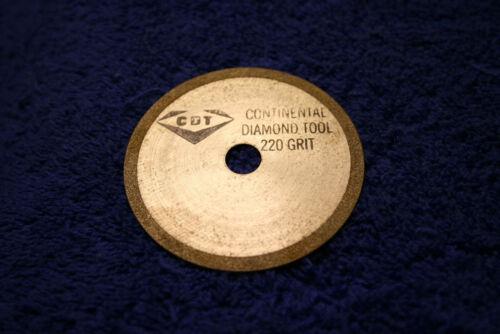 CONT. DIAMOND TOOL, CBN CUT OFF WHEEL