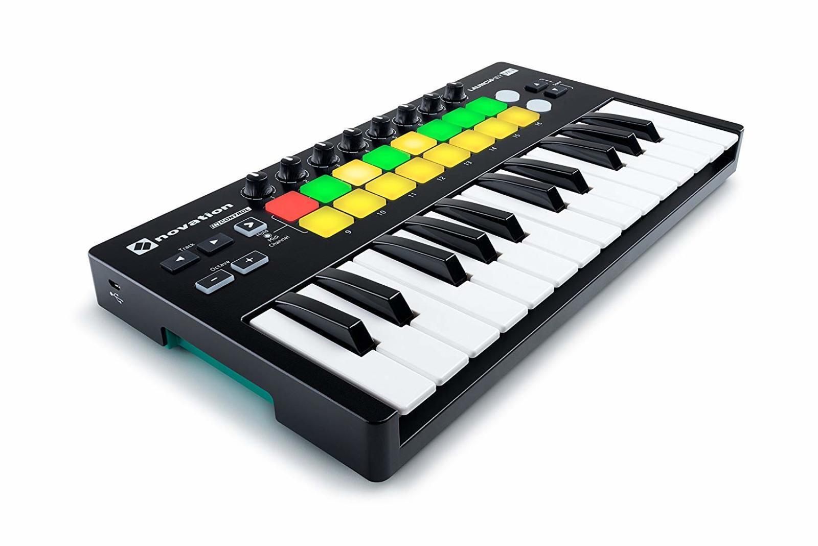 Details about Beat & Music Maker DJ Piano USB MIDI Mini Drum Pad & Keyboard  Controller MK2 25K
