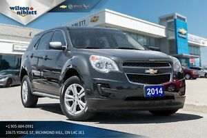 2014 Chevrolet Equinox LS 1 OWNER, ACCIDENT FREE