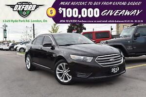 2013 Ford Taurus SEL - Remote Start, GPS, Sunroof, Parksense