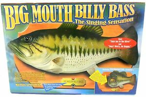 Big mouth billy bass ebay for Big mouth billy bass singing fish