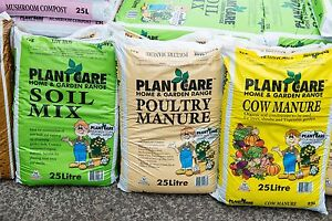 3 for $12 Garden Mulch Cow Mushroom Chicken Manure Soil Pot Mix Fairy Meadow Wollongong Area Preview
