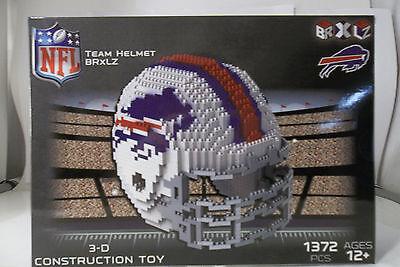 - Buffalo bills BRXLZ Team Helmet 3D Toy PUZZLE 1372 Pcs SET NFL Ages 12+ GIFT