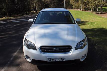 LOW KMS 70KMS!! Subaru Outback AWD 2005 Pearl White Liverpool Liverpool Area Preview