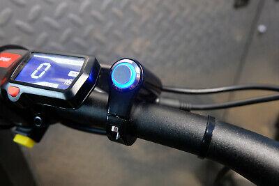 SUR-RON SURRON LIGHTBEE X BLUE LED PLUG N PLAY HEADLIGHT SWITCH 22MM