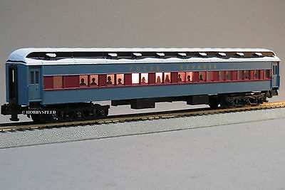 LIONEL AMERICAN FLYER POLAR EXPRESS COACH CAR S GAUGE 2 rail train 6-49632-C NEW
