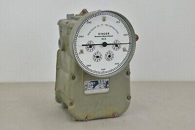 Singer American Meter Division Dry Test Gas Flow Meter Dtm-115 22666 H11