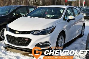 2018 Chevrolet Cruze RS LT *SIEGES CHAUFFANTS* CAMERA RECUL *PRO
