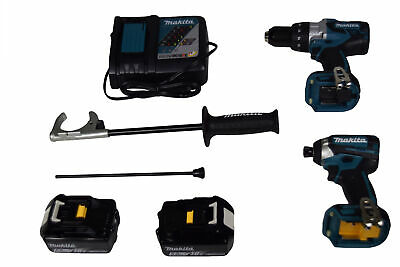 Makita Xt268t 18v Lxt Lithium-ion Brushless 12 Drill Impact Driver Combo Kit