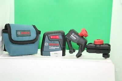 Bosch Professional Green Laser GLL40-20G with MM 2 Mount ~ FREE SHIPPING