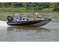 BASS TRACKER 175 TXW .... 75 HP .....ONLY 80 HOURS