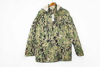 NWT NWU Type III Navy Seal AOR2 Digital Woodland GORETEX jacket parka L/R
