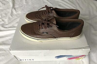Vans Brown Leather UK 9
