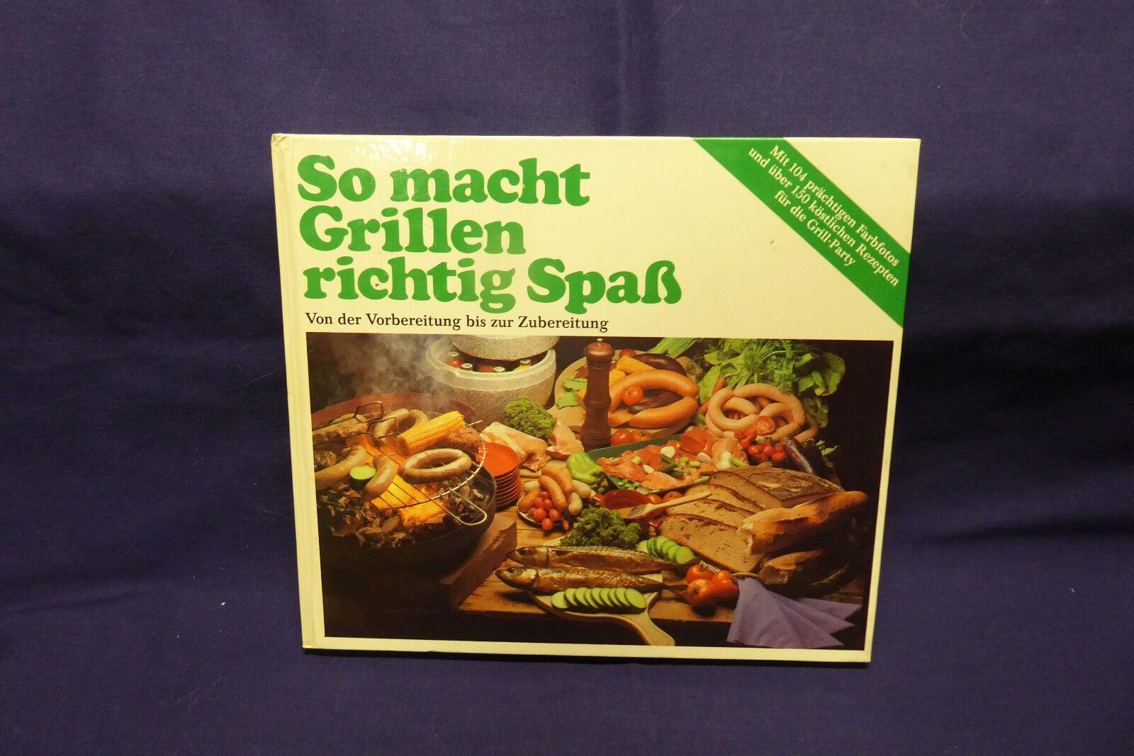 Buch Geschenk So macht Grillen richtig Spaß Kochbuch