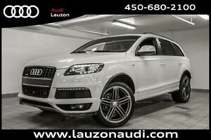 2014 Audi Q7 3.0T SPORT S-LINE BLACK OPTICS 21 PCS