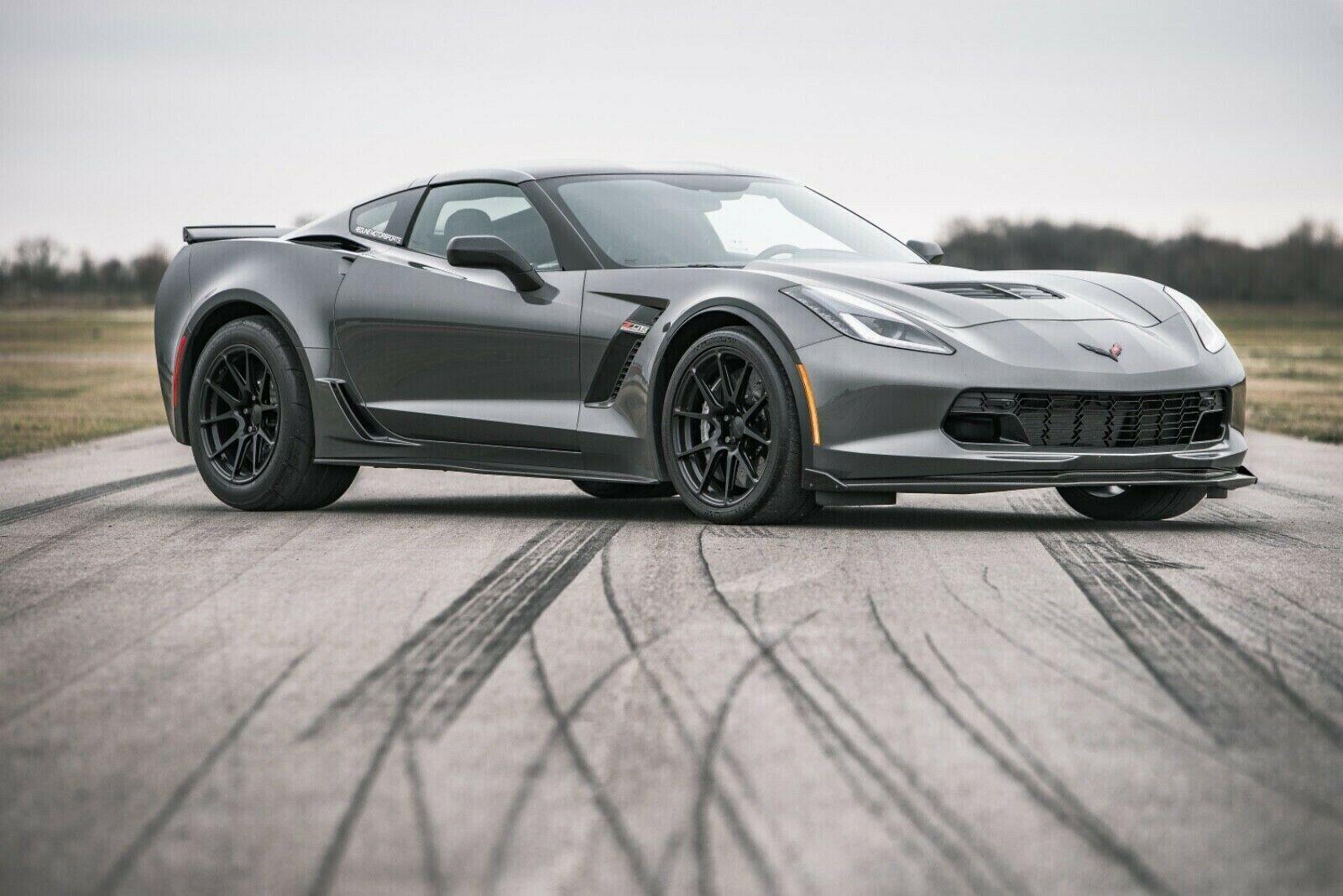 2016 Grey Chevrolet Corvette   | C7 Corvette Photo 1
