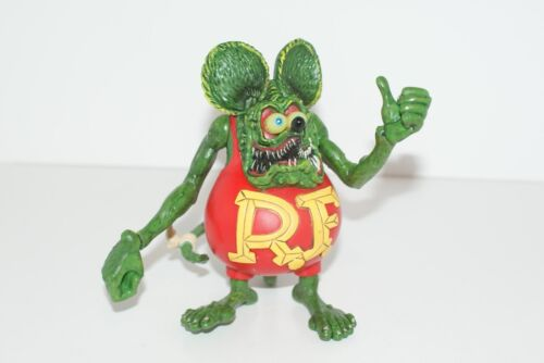 RAT FINK FIGURE 4 1/2 TO 5 INCHES ED ROTH COLLECTIBLE PVC HARD TO FIND GIFT