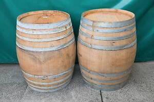Genuine American Oak Wood Patio Full Wine Barrel Table Barrique Fairy Meadow Wollongong Area Preview