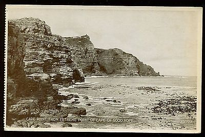 Early Photo Postcard Cape Point From Extreme Point Of Cape Of Good Hope  B4024