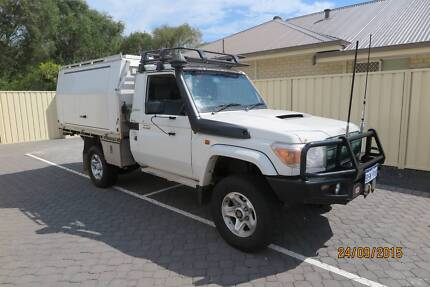 2010 Toyota LandCruiser 79 series single cab GXL V8 Busselton Busselton Area Preview
