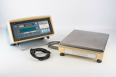 Weigh Tronix Wi-110 Scale Monitor With Teraoka Seiko Model S A Platform V01