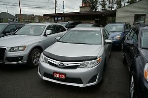 2013 Toyota Camry LE Dealer serviced,