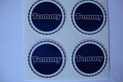 """12  Tommy CROWN GREEN BOWLS STICKERS  1""""   LAWN  FLATGREEN  AND INDOOR BOWLS"""
