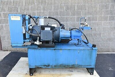 Used Motion Industries Hydraulic Power Pack 120gal 40hp Pump1600psi 33gpm
