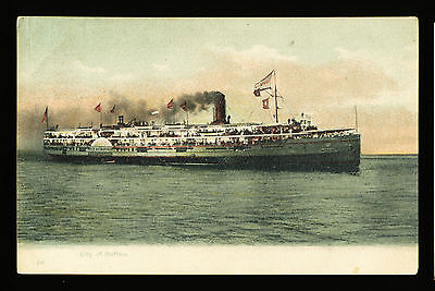 Steamer 'City of Buffalo' Postcard - Detroit & Cleveland Navigation Company](Party City Buffalo)