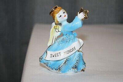 Vintage Ardalt Sweet Monday Angel of the Week Figurine with - Star Of The Week