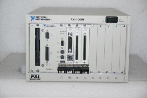 NATIONAL INSTRUMENTS NI PXI-1000B PXI-8170 COMPUTER PXI-8212 PXI-6508 PXI-6031E