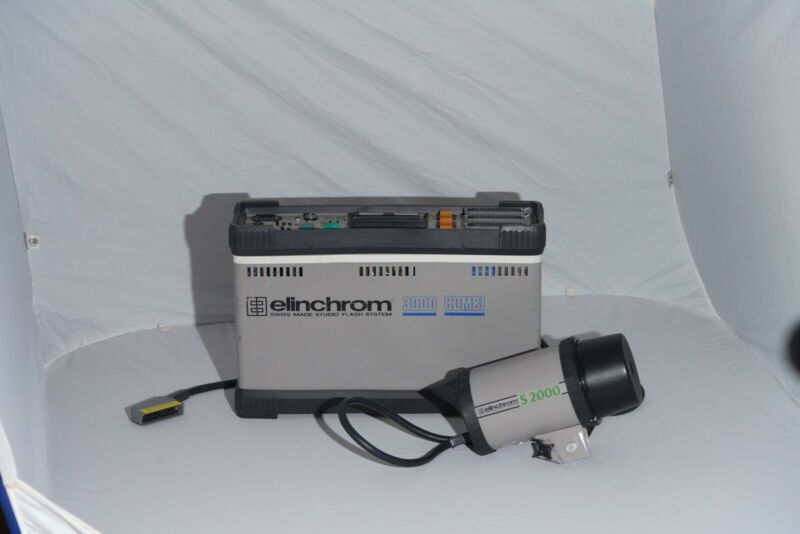 Elinchrom 3000 Combi Power pack with A2000 Heads
