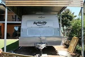 Kedron Infinity Caravan  set up for free camping Bracken Ridge Brisbane North East Preview