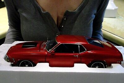 1970 FORD MUSTANG BOSS 429 STREET FIGHTER CANDY RED VINTAGE GMP CAR 1:18 ACME