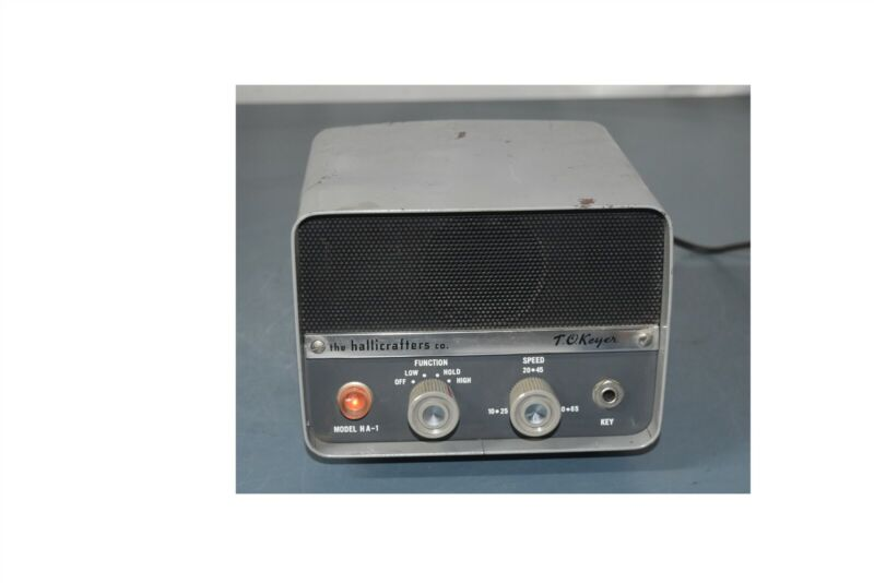 HALLICRAFTERS HA-1 T.O. KEYER ELECTRONIC KEYER