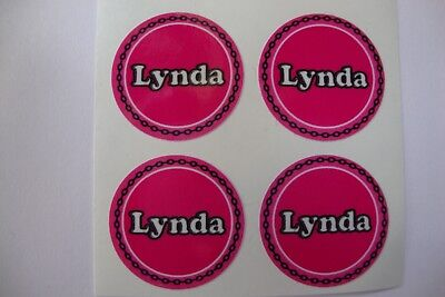 "12  Lynda  CROWN GREEN STICKERS  1""   LAWN BOWLS FLATGREEN  AND INDOOR BOWLS"
