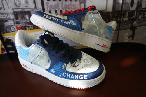 NIKE Air Force 1 2008 OBAMA-Change Yes We Can Women