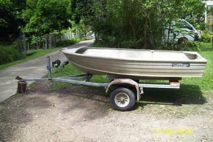 Savage 10 foot Boat and trailer