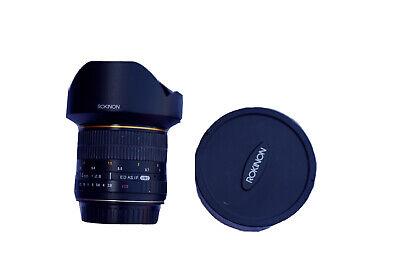 Rokinon 14mm F2.8 Ultra Wide Angle Lens for Canon EF Cameras