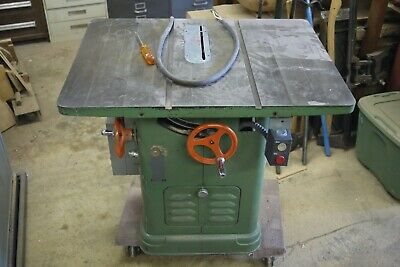 Rockwell Delta Unisaw 2 Hp 10 Table Saw 230460v 3 Ph With 62 Delta Unifence