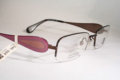 Japanese ART FOR EYE Titanium Half Rimless Light Optical Eyeglass Frames Women's