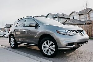 2011 NISSAN MURANO SL LOW KMS/LEATHER/ACCIDENT FREE/MINT