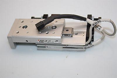 Smc Mxs8-30-x7 Air Slide Table Cross Roller Guide Precise Assy Position Sensors