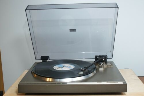 Rare Project One DR-791 Quartz Direct Drive Semi Automatic Turntable.Works.Read.