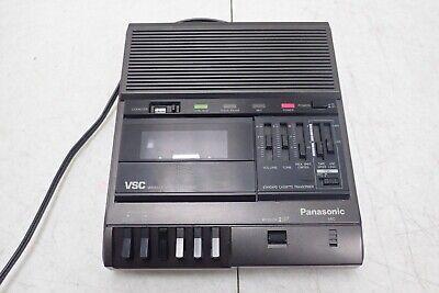 Panasonic Model Rr-830 Vsc Variable Speech Control Voice Recorder Transcriber