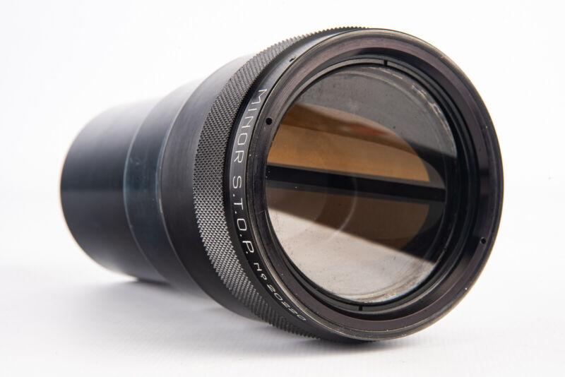 Hypergonar 35 MINOR S.T.O.P. 2x Anamorphic Cinemascope Lens RARE V15