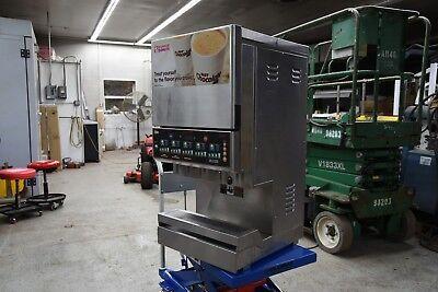 Cecilware Gb5m5.5 5 Hopper Powdered Hot Dispenser W 4 Size Selections 240v 1ph
